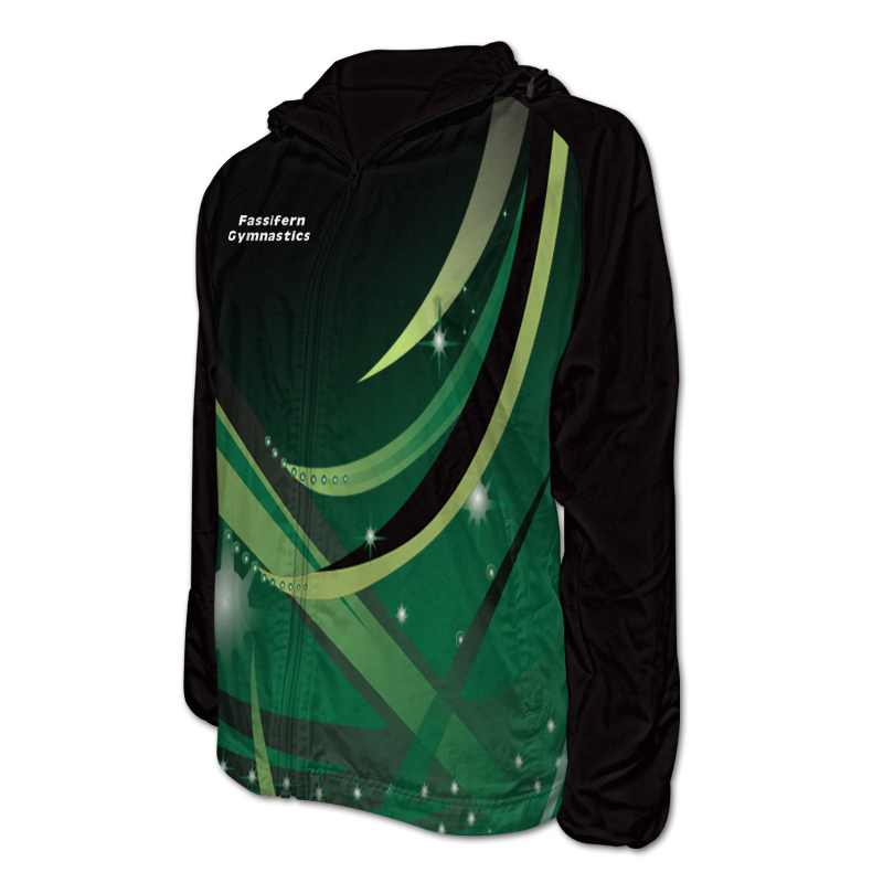 Gymnastics Team Jacket with Hood 009