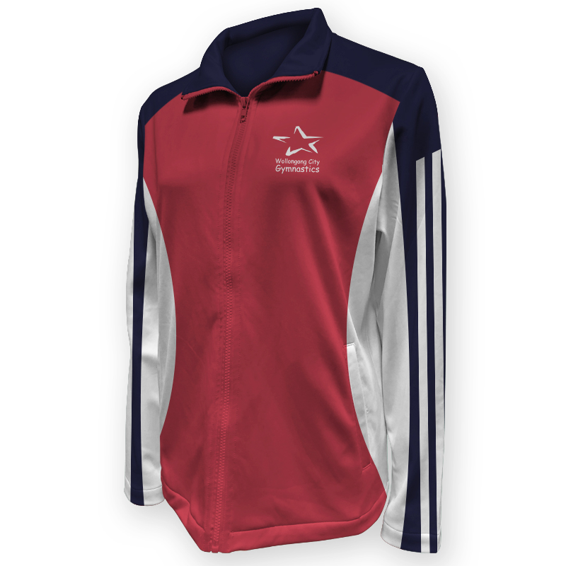 Gymnastics Warm Up Jacket 011