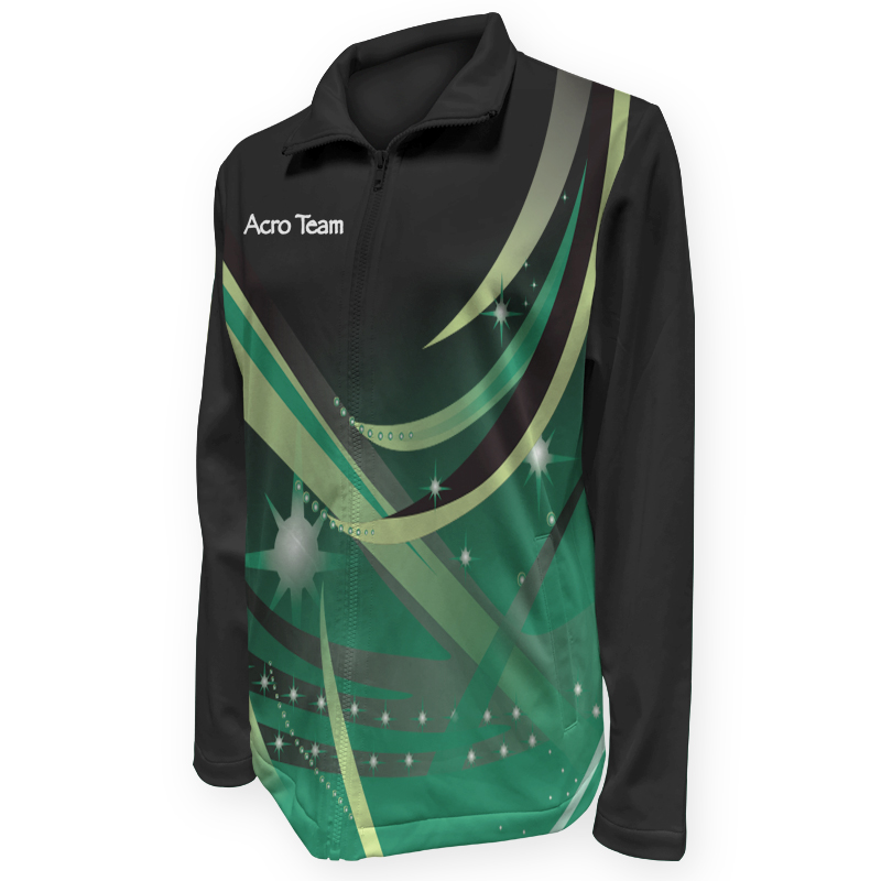 Gymnastics Warm Up Jacket 009