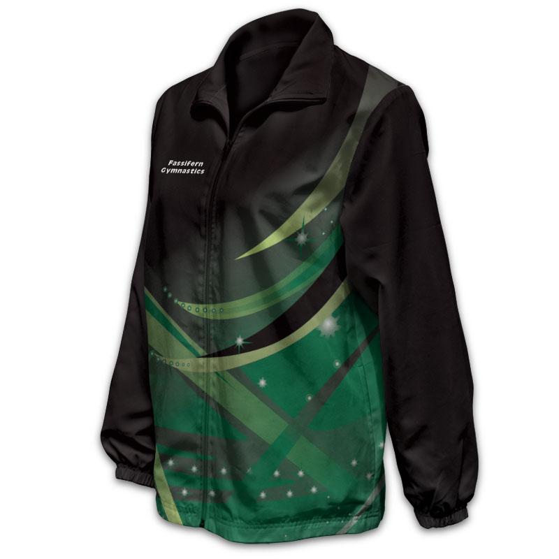 Gymnastics Track Jacket 009