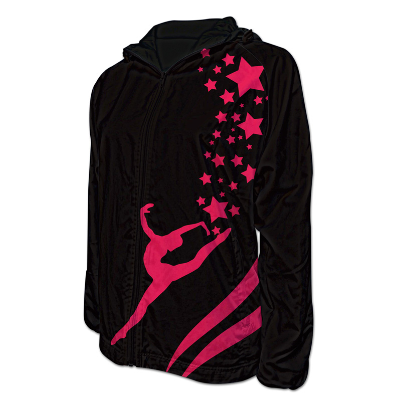 Gymnastics Team Jacket with Hood 010