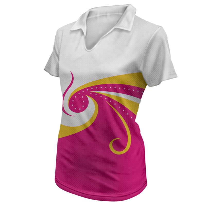 Ladies Gymnastics Polo 012