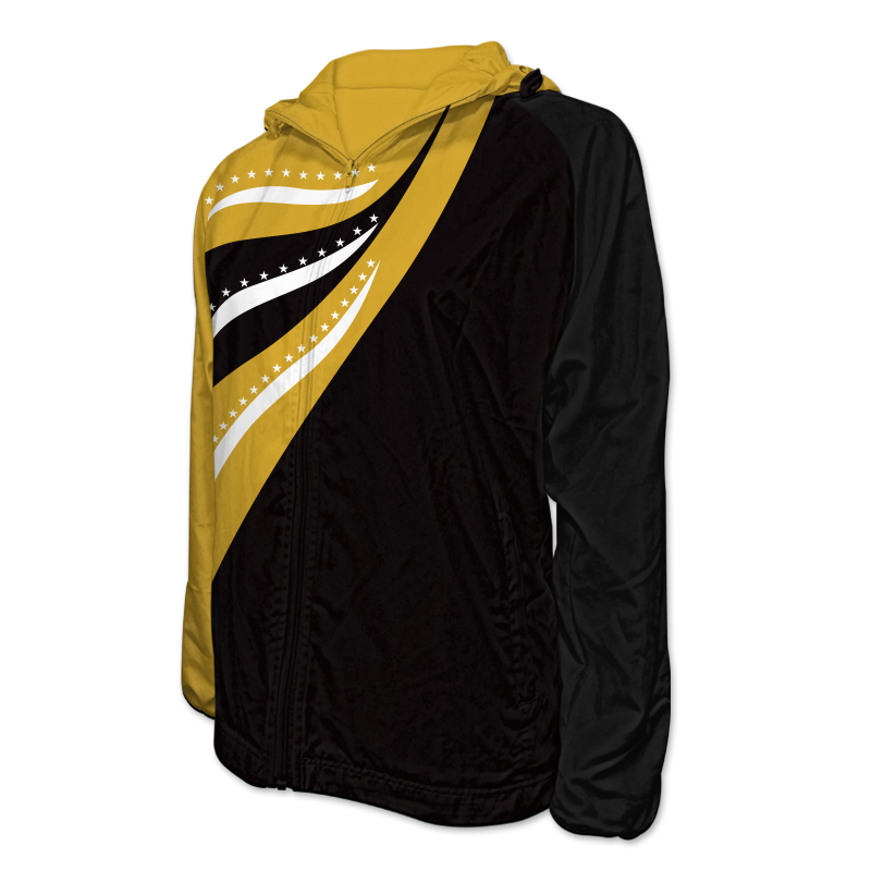 Gymnastics Team Jacket with Hood 001