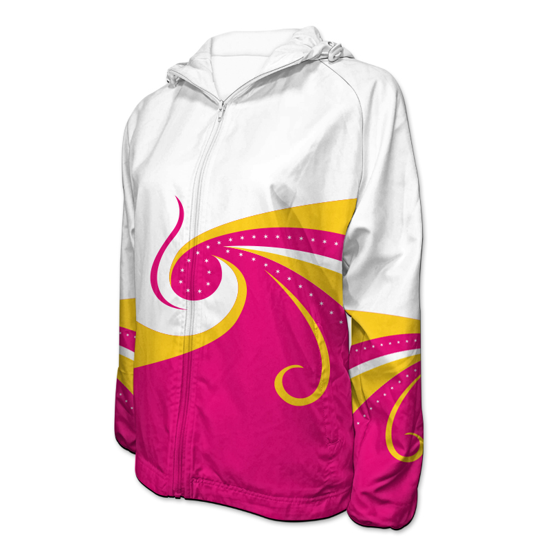 Gymnastics Team Jacket with Hood 012