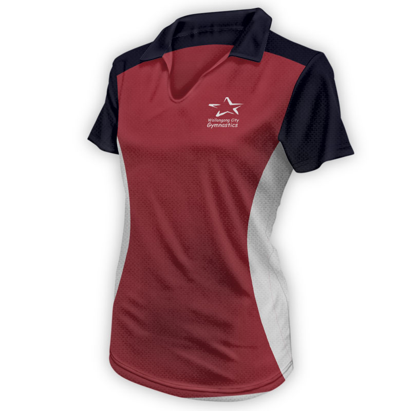 Ladies Gymnastics Polo 011