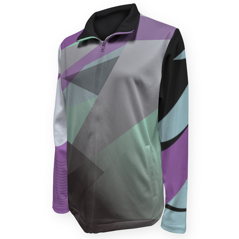 Gymnastics Warm Up Jacket 006