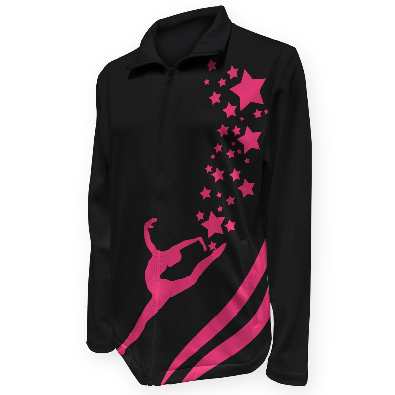 Gymnastics Warm Up Jacket 010