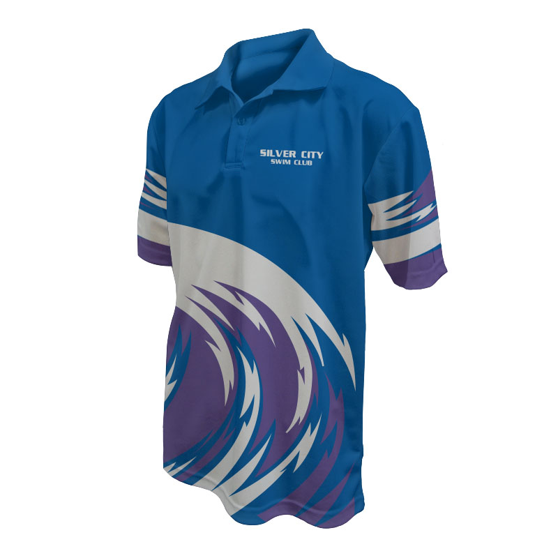 Unisex Swimming Polo - 800x800 - Design 4