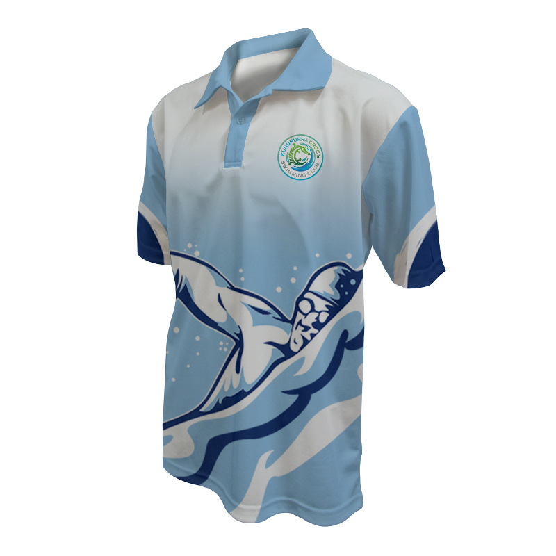 Unisex Swimming Polo - 800x800 - Design 5