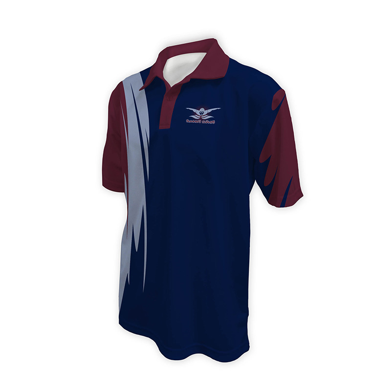 Unisex Swimming Polo - Design (3)