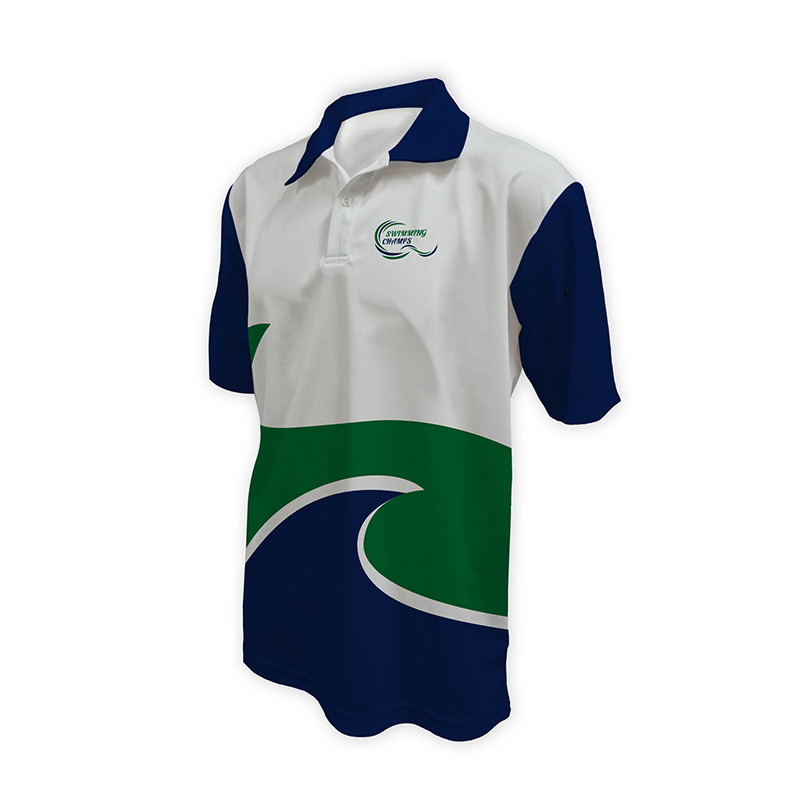 Unisex Swimming Polo - Design (4)