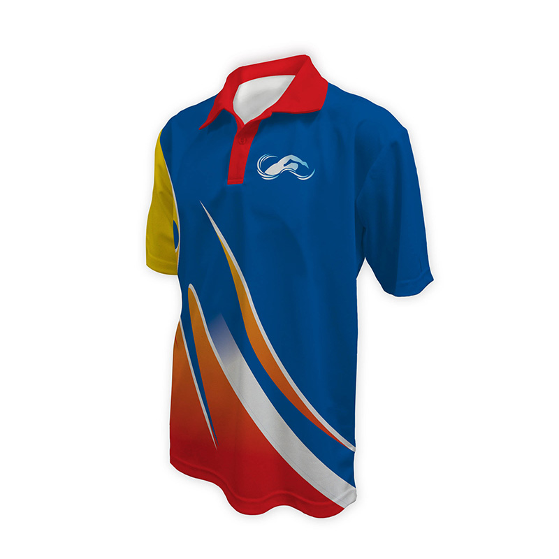 Unisex Swimming Polo - Design (5)
