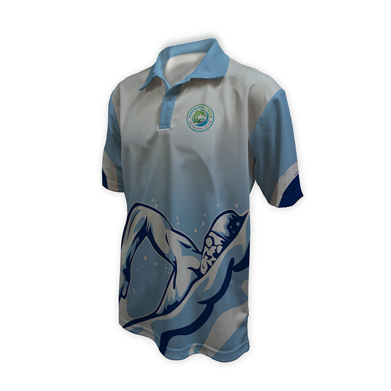 Unisex Swimming Polo - Design (7)