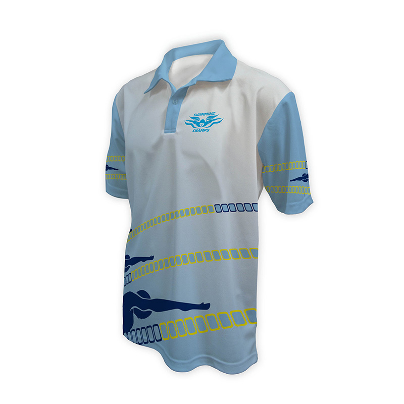 Unisex Swimming Polo - Design (8)