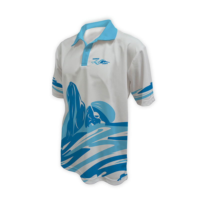 Unisex Swimming Polo - Design (9)