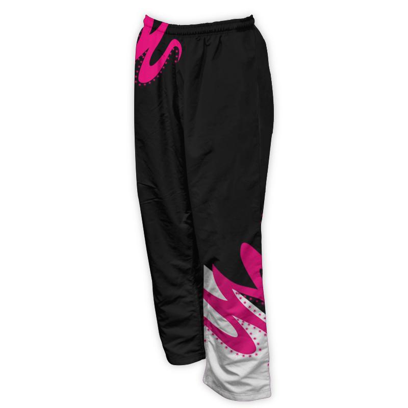 Unisex Gymnastics Microfibre Track Pants 014