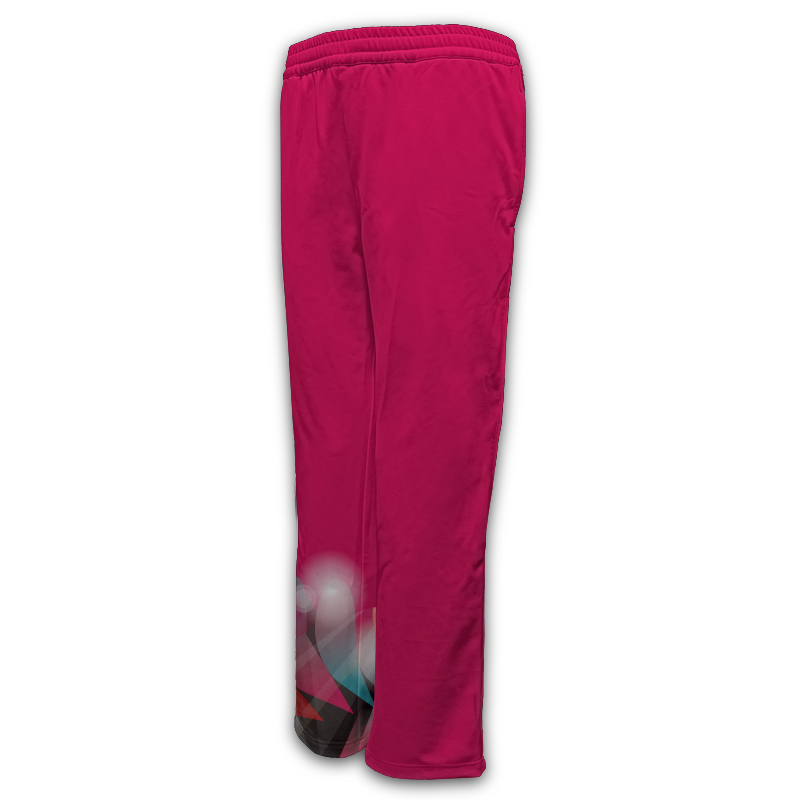 Ladies Gymnastics Activewear Track Pants Design 002