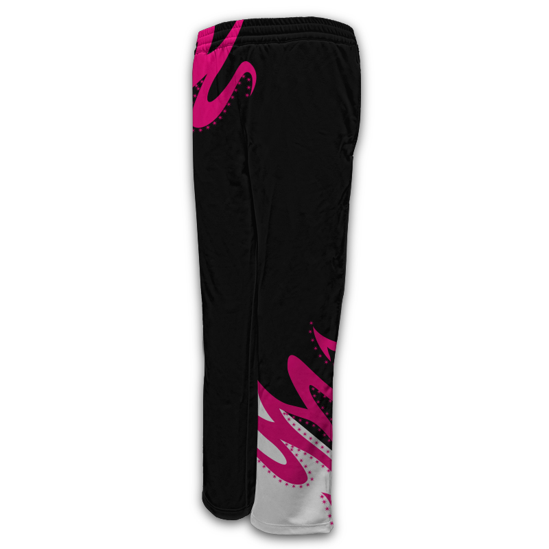 Ladies Gymnastics Activewear Track Pants Design 007