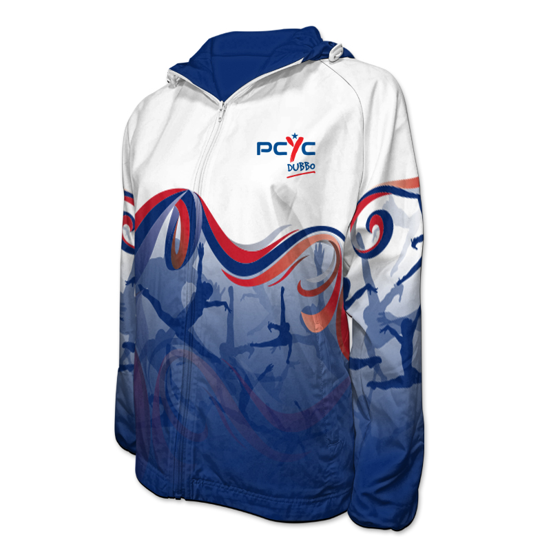 Gymnastics Team Jacket with Hood 003