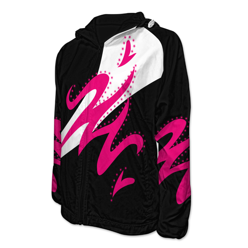 Gymnastics Team Jacket with Hood 007