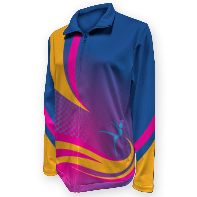 Gymnastics Warm Up Jacket 018