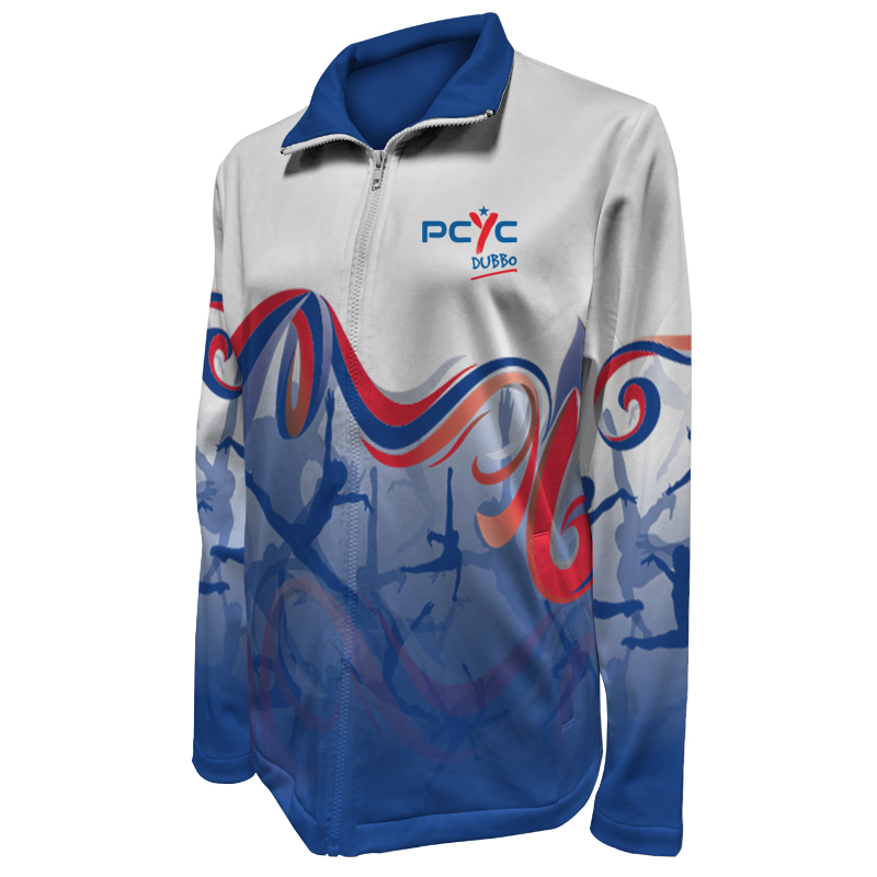 Gymnastics Warm Up Jacket 003