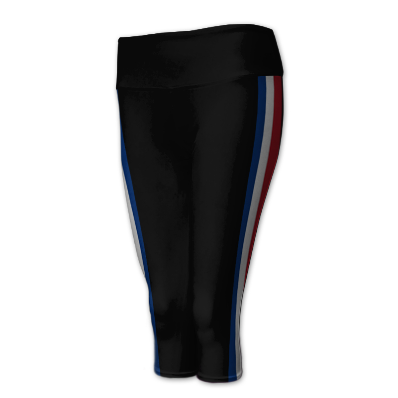 Gymnastics 3/4 Length Comfort Waist Tights 023