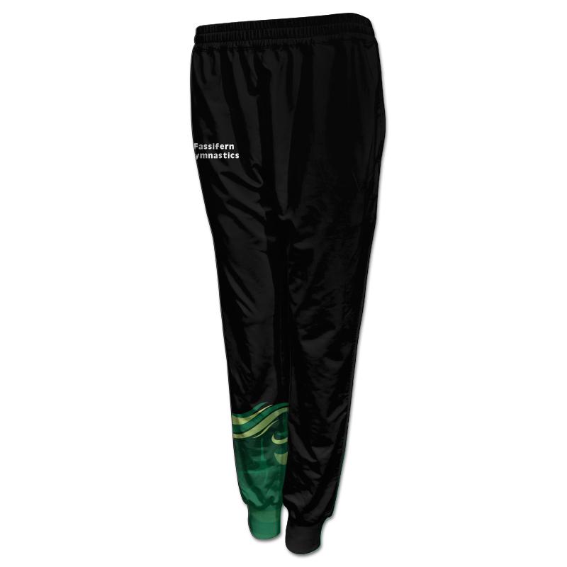 Ladies Gymnastics Activewear Track Pants with Cuffs 009