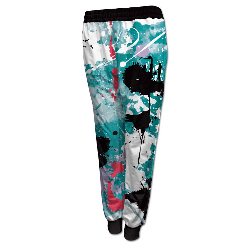 Ladies Gymnastics Activewear Track Pants with Cuffs 014