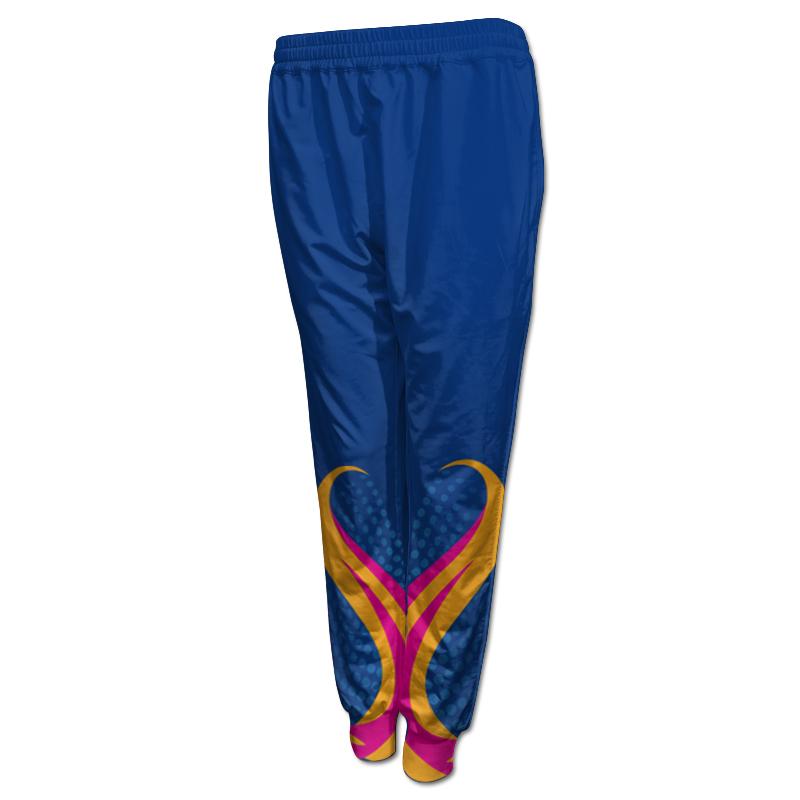 Ladies Gymnastics Activewear Track Pants with Cuffs 018