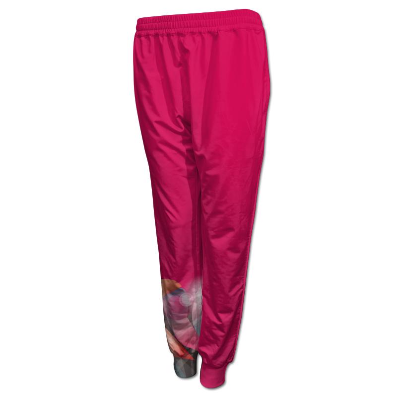 Ladies Gymnastics Activewear Track Pants with Cuffs 002