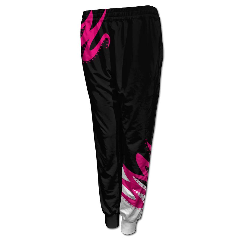 Ladies Gymnastics Activewear Track Pants with Cuffs 007