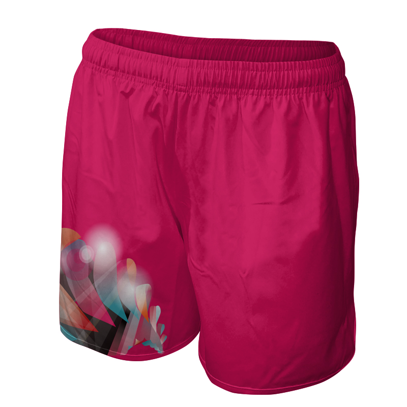 Ladies Gymnastics Training Shorts 002