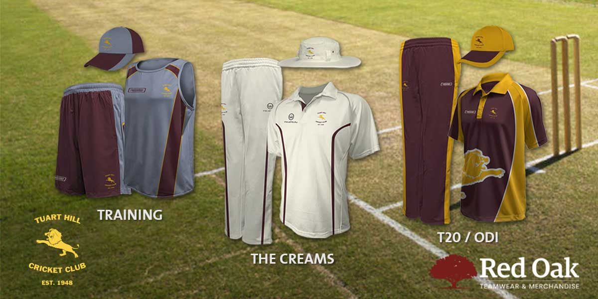 caf909449 Hit a six with custom cricket uniforms designed and manufactured by Red Oak  Teamwear ...