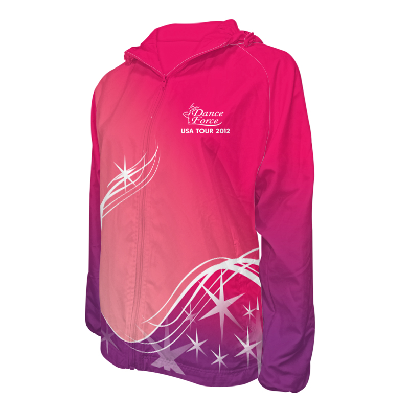 Custom Dancewear Team Jackets with Hood 009