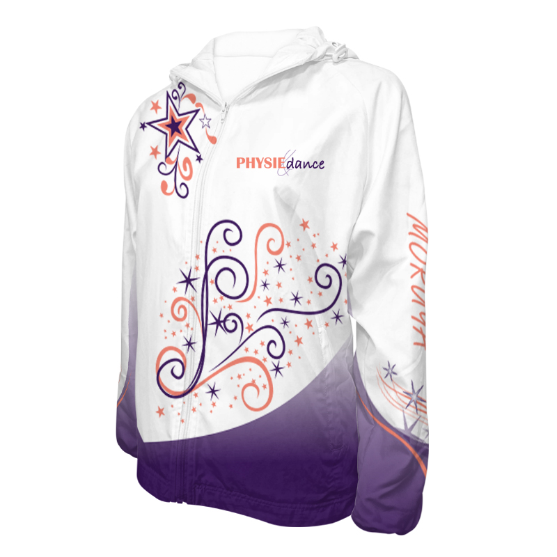 Custom Dancewear Team Jackets with Hood 010