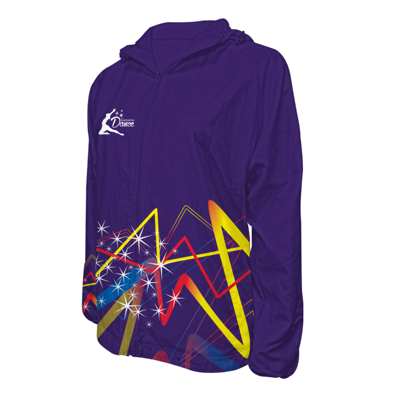 Custom Dancewear Team Jackets with Hood 011