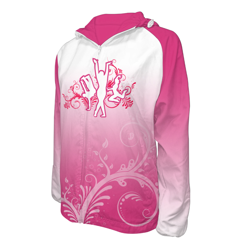Custom Dancewear Team Jackets with Hood 017