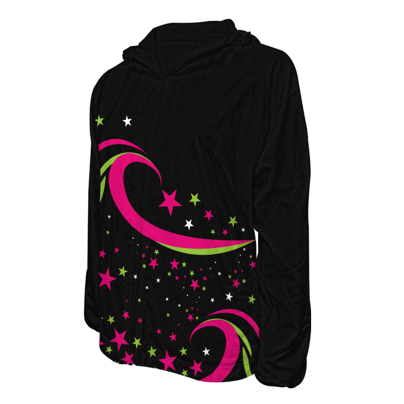 Custom Dancewear Track Jackets with Hood 028