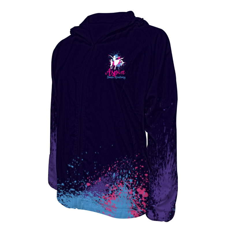Custom Dancewear Track Jackets with Hood 029
