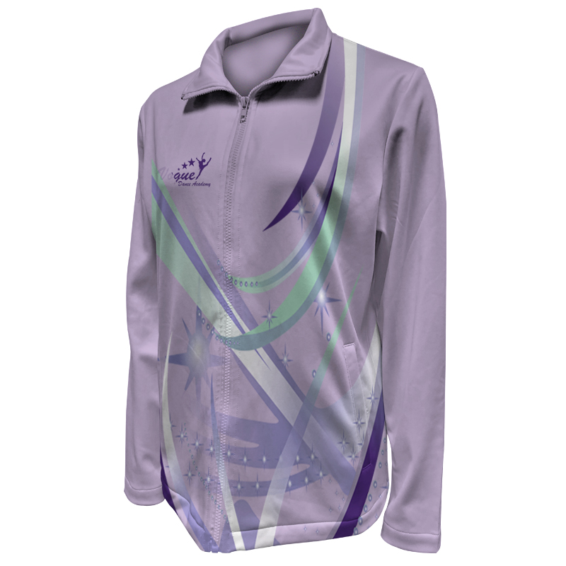 Custom Dancewear Warm Up Jacket 001