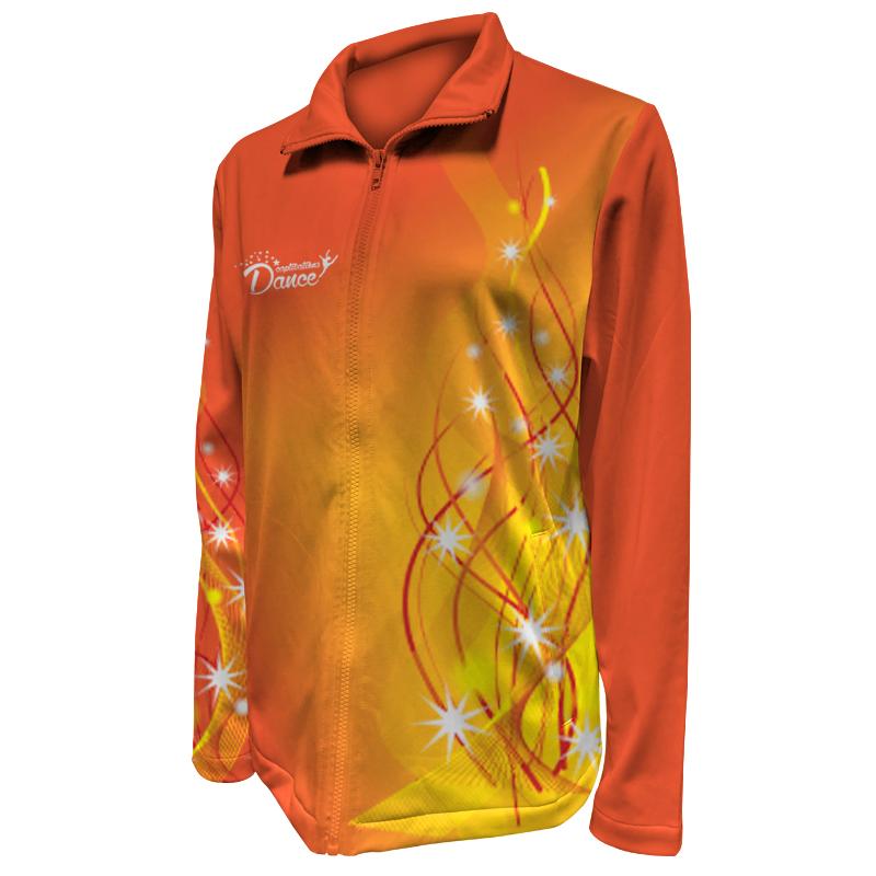 Custom Dancewear Warm Up Jacket 003