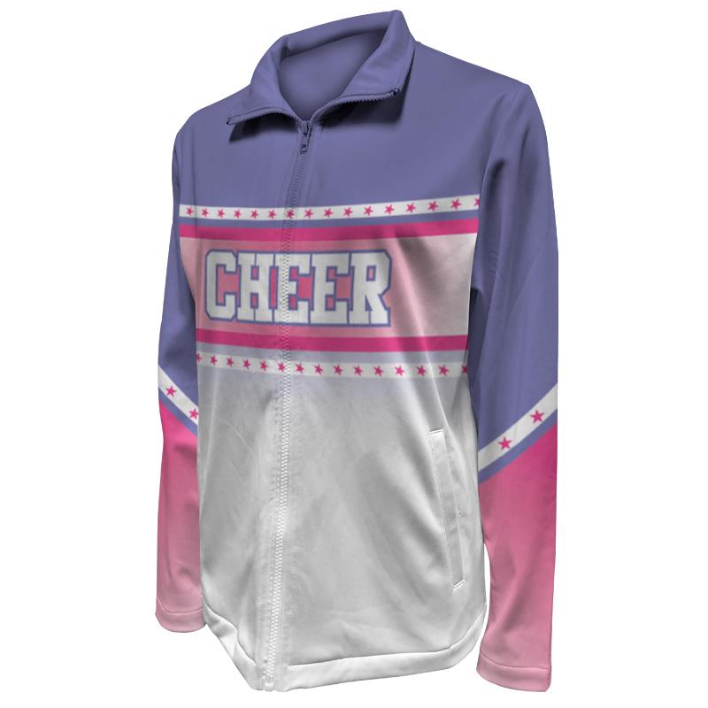 Custom Dancewear Warm Up Jacket 012