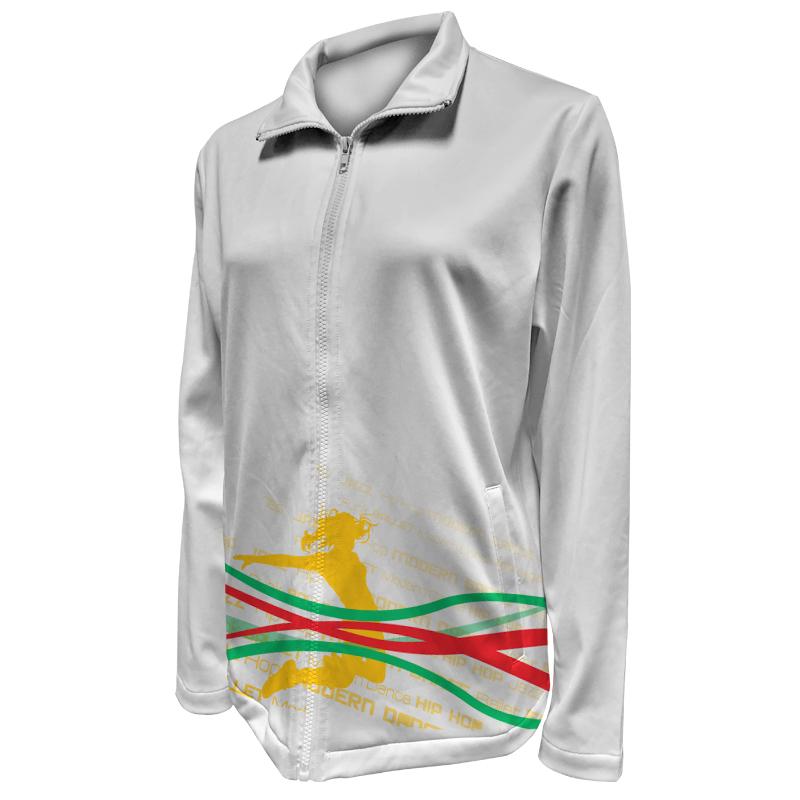 Custom Dancewear Warm Up Jacket 013