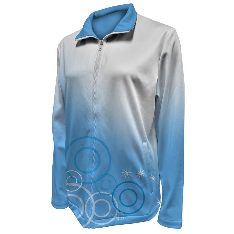 Custom Dancewear Warm Up Jacket 015