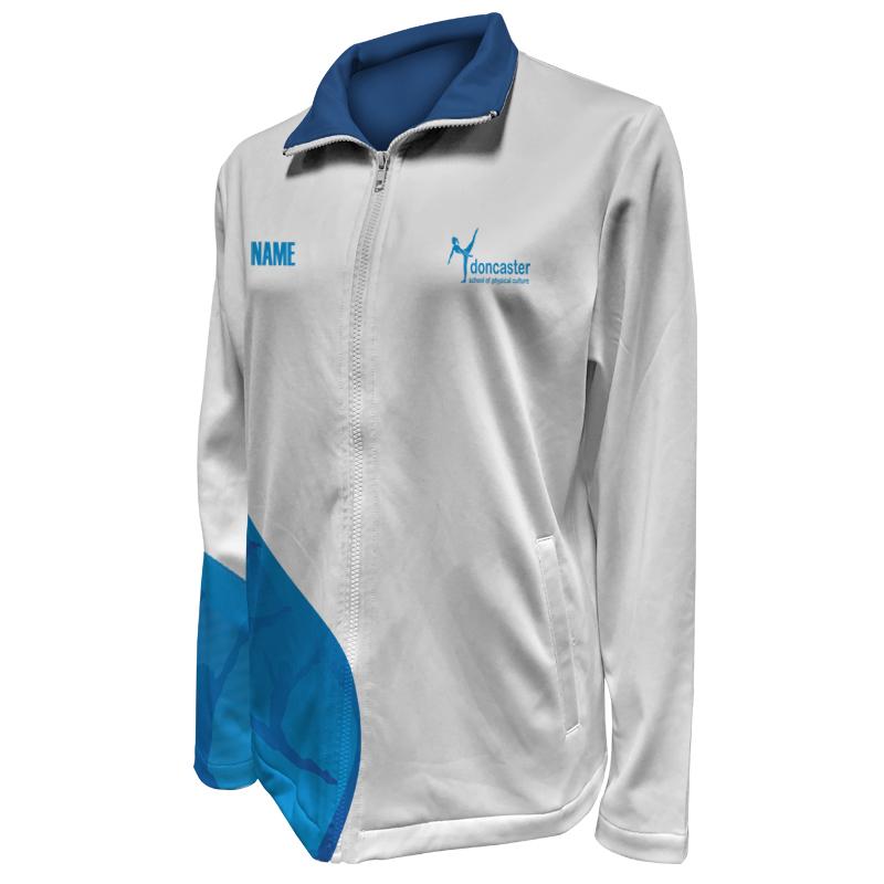 Custom Dancewear Warm Up Jacket 020
