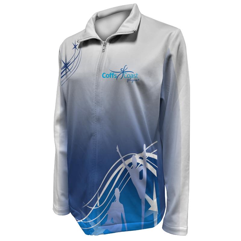Custom Dancewear Warm Up Jacket 023