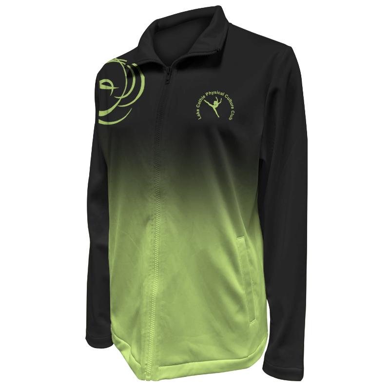 Custom Dancewear Warm Up Jacket 027