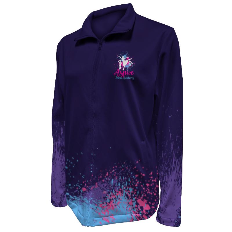 Custom Dancewear Warm Up Jacket 029