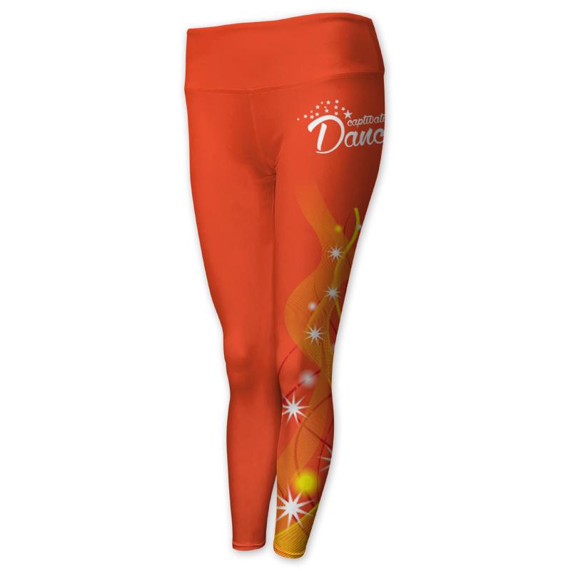 Dancewear Full Length Comfort Waist Tights 003
